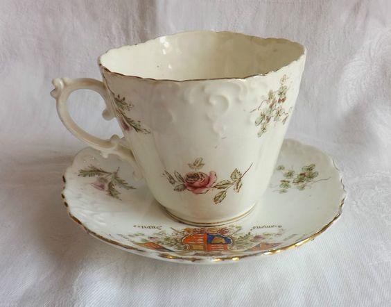 Aynsley Commemorative Tea Cup & Saucer Queen Victoria Longest Reign Jubilee 1897 | eBay