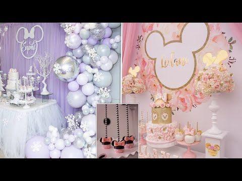 Mini Mouse Parties Birthdays Of Girls Video2 حفلات عيد ميلاد عشكل ميني ماوس للبنات الجزء2 Youtube Youtube Enjoyment