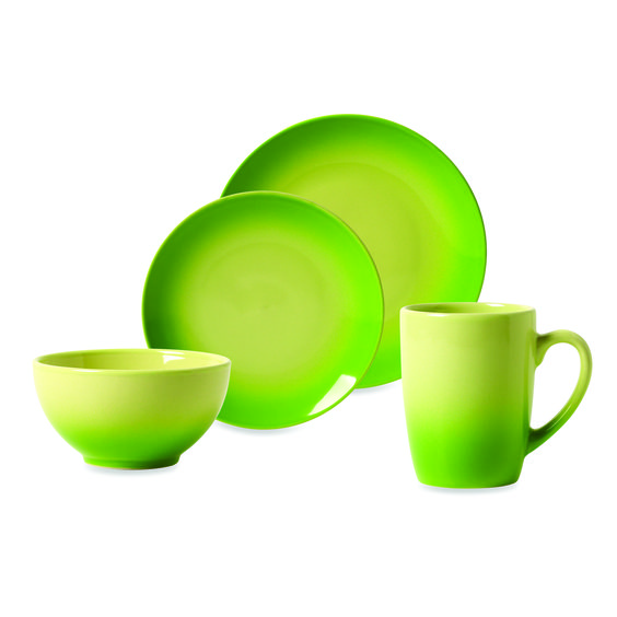 Tabletops Unlimited™ Ombre Green #Dinnerware