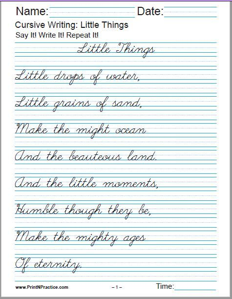 1000s Of Homeschool Worksheets ⭐ Fun Practice Homeschool Curriculum  Cursive Writing Worksheets, Cursive Writing Practice Sheets, Learn  Handwriting
