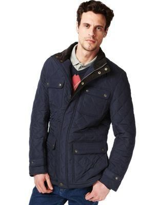 Blue Harbor Quilted Jacket | Men's Style | Pinterest | Jackets ...