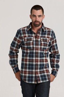 Diamond Reef Shirt - Brown #barkers #swanndri
