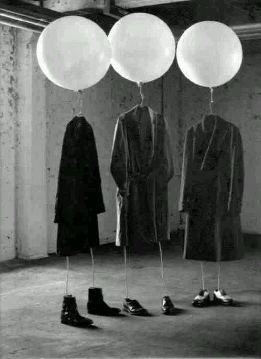 This is definitely more art exhibition than theatre show but I just liked the image...