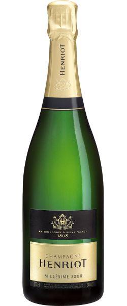 Henriot 2000 : Séduisant et d'une admirable complexité aromatique, le Brut Millésimé 2000 exprime un équilibre remarquable entre gourmandise et raffinement. Une année ronde et puissante    En savoir plus : http://avis-vin.lefigaro.fr/vins-champagne/champagne/champagne/d19831-henriot/v19947-henriot-brut-millesime/vin-blanc/2000#ixzz2Qi1knNlA