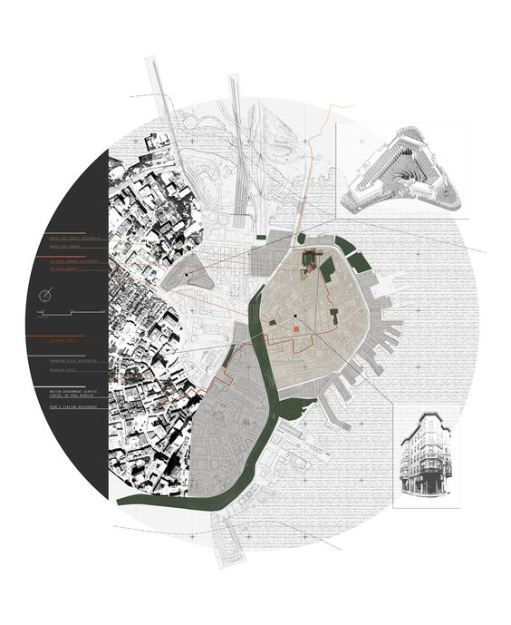 Concept Map of Housing Project in Boston's North End