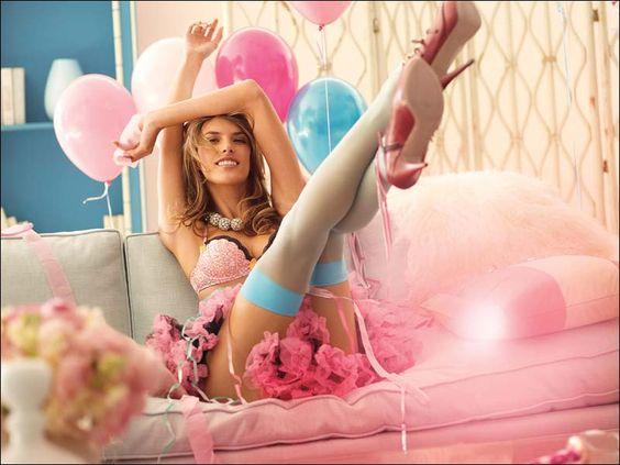 Alessandra Ambrosio Sizzles in Sexiest Victoria's Secret Lingerie Campaign
