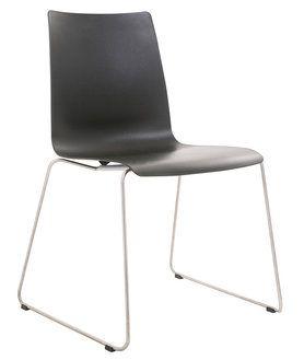 KFF - Alec Stuhl mit Stahldrahtgestell von KwiK Designmöbel