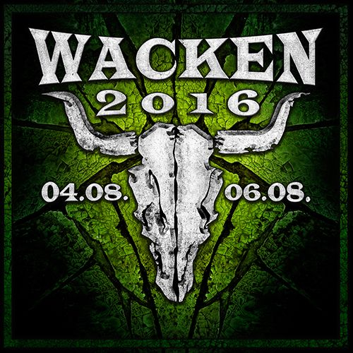 Wacken Open Air, August 4-6, 2016, in Germany. Lineup includes Die Krupps and Ministry!