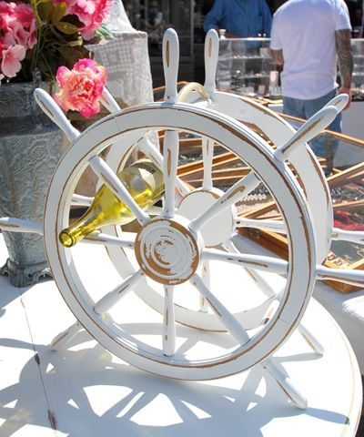 Wine Rack... would be neat for a nautical wedding!