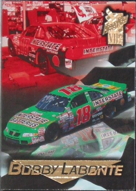 Bobby Labonte Press Pass VIP 1998 Card No. 42  Nascar  http://www.webstore.com/store,pgr,Motor-Racing,category,1551,parent_id,181753,user_id,shop