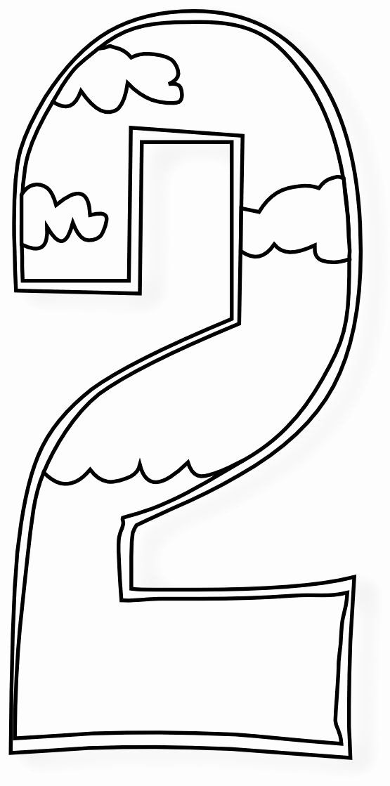 Number 2 Coloring Page Lovely Creation Days Numbers Black White Art Coloring Book 555px Sunday School Coloring Pages Creation Coloring Pages Bible Crafts