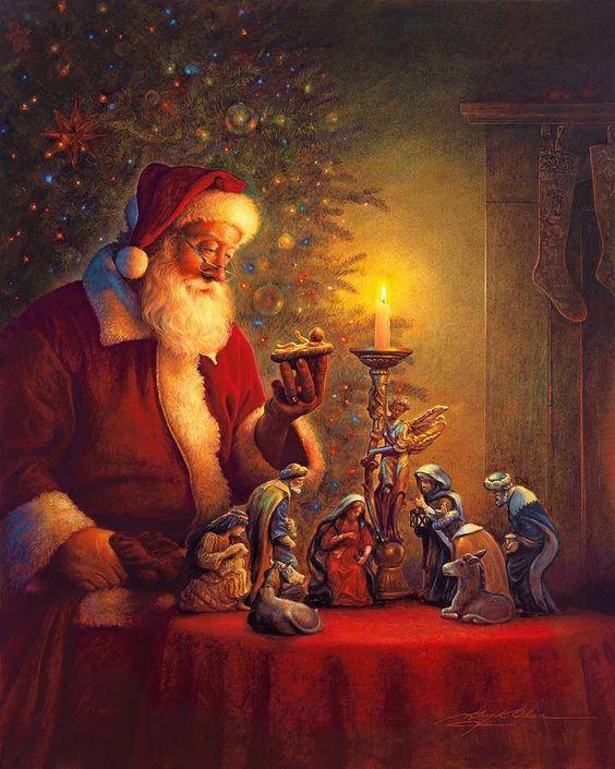 Santa Claus - Baby Jesus