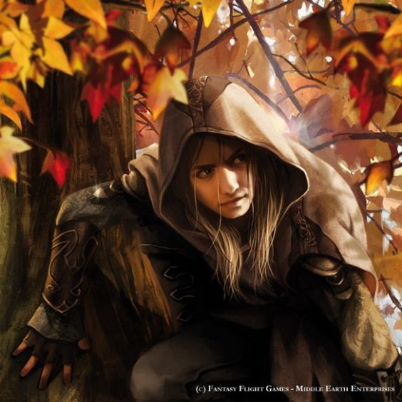Haldir of Lorien - Magali Villeneuve