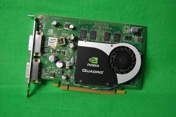 NVidia Quadro FX 570 PCIe x16 Grafikkarte 256MB RAM 2 x DVI-D Video Card Graka