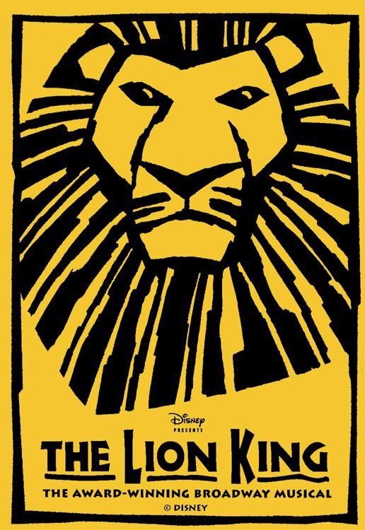 "Tony award-winning musical based on the Disney animation classic. Who can forget the anthem ""Circle of Life""?:"