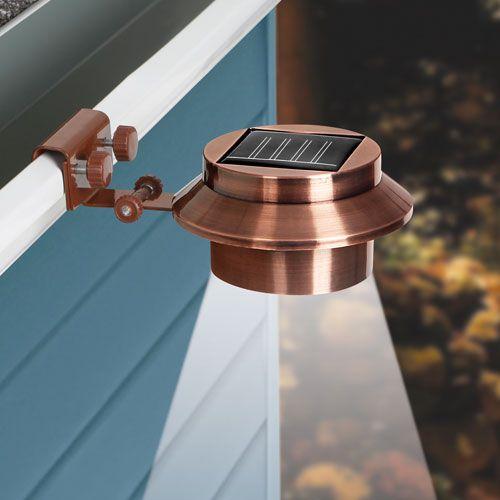 Rope Lights On Gutters: Buy 1 Get 1 Free! Solar Gutter Lights - Copper