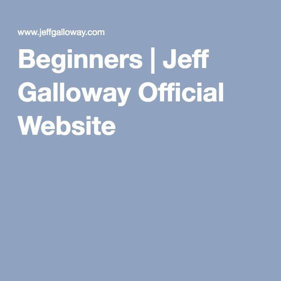 Beginners running plan