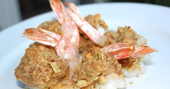 A Busy Working Woman Finds Time to Cook!: Baked Stuffed Shrimp