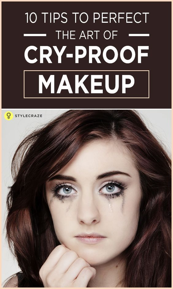 Every morning before we apply makeup, thoughts run in the head. Thoughts about the plan for the day, the duration we want the makeup to stay on our faces and the possible retouches we can afford. Wouldn't it be so great if there were some tricks that can make your makeup stay on your face for longer? Follow these tips for a cry-proof makeup. #Makeup