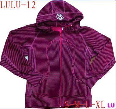 Lululemon Black Friday & Cyber Monday Sale 2013 - Lululemon Scuba Hoodie Women Striped Dark Red