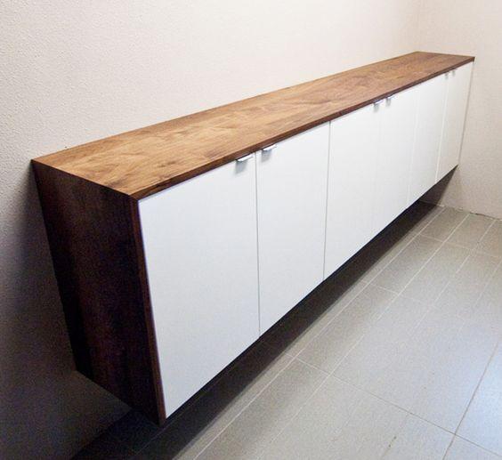 Ikea Akurum Fan Cabinets With White Appl D Doors And Strecket Handles Single Door 11 7 8 W
