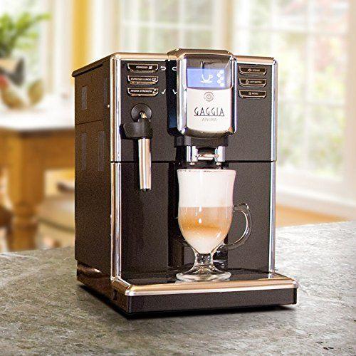 Gaggia Anima Coffee And Espresso Machine Includes Steam Wand For