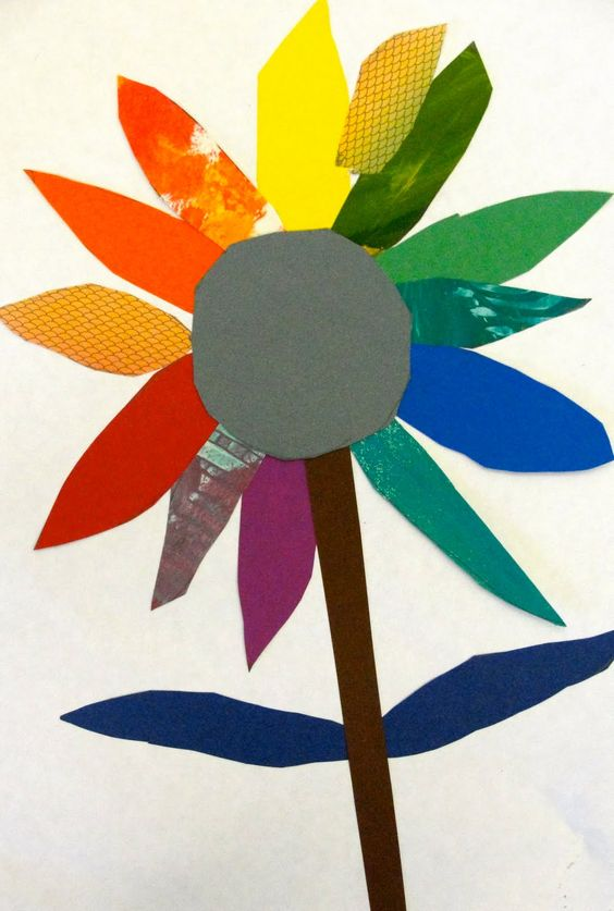Colorwheel Bouquet Art Lesson | Deep Space Sparkle