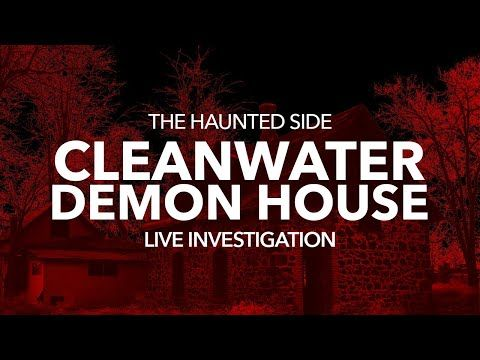 Live Investigation Cleanwater Demon House Youtube In 2020 Investigations Paranormal Witness Ghost Adventures