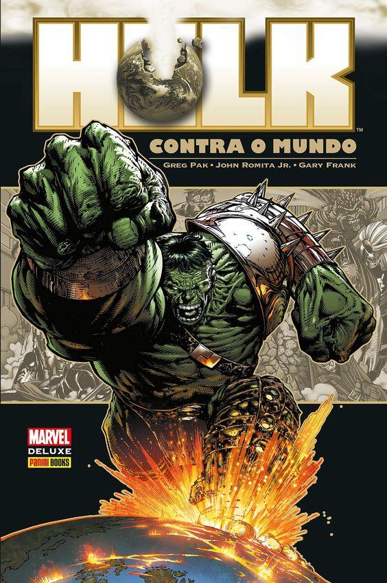 Hulk Contra o Mundo - Marvel Deluxe - MonsterBrain