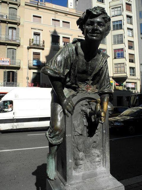 Font del Trinxa - La meva Barcelona ∞ font moderniste de Josep Campeny i Santamaria.