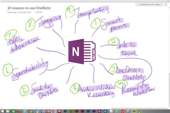 10 reasons why OneNote is the best classroom tool ever. - Australian Teachers Blog - Site Home - MSDN Blogs