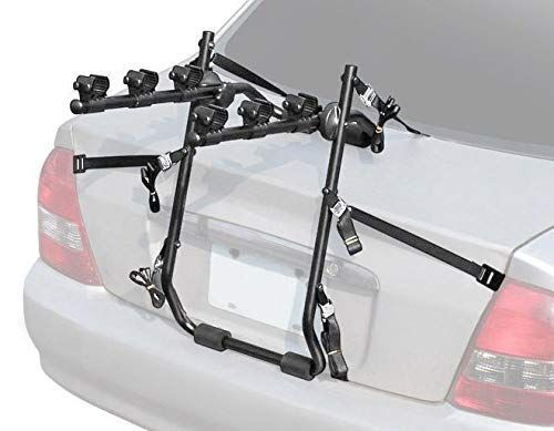 Venzo 3 Bike Car Universal Carrier Rack Bicycle Rear Racks Or Bike