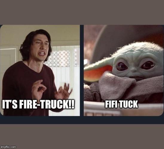 Fifi Tuck Yoda Babyyoda Starwars Episode9 Themandalorian Mandalorian Disney Yoda Funny Yoda Meme Star Wars Jokes