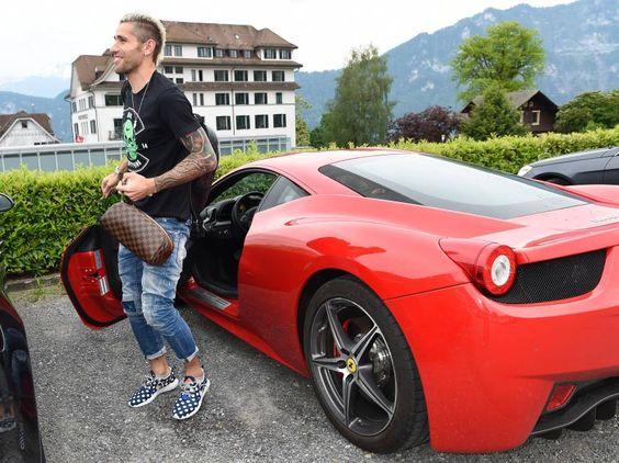 Frei im Porsche, Behrami im Ferrari: Das sind die Boliden der Nati-Stars   Blick