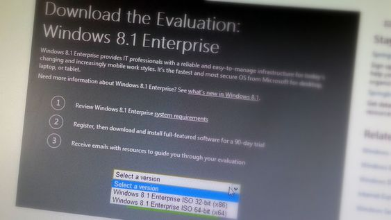 Download: Windows 8.1 Enterprise 90-day trial ready for grabs!
