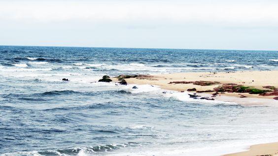 enrola na areia