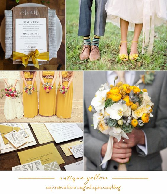 Antique Yellow | Pinterest Inspiration by Magnolia Pair (love love love the shoes)