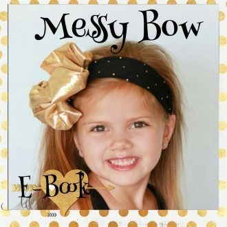 Boutique Messy Bow Turban | Sewing Pattern | $5.00 Sale (07/29/14 MTS) | YouCanMakeThis.com