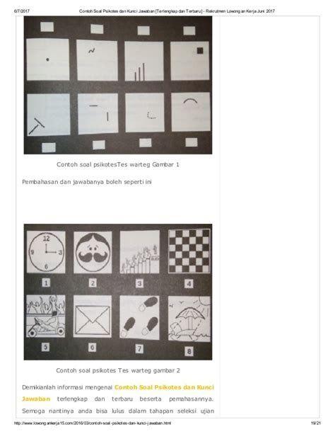 Contoh Soal Psikotes Dan Jawabannya Pdf Terlengkap 12 Contoh Soal Psikotes Dan Jawabannya Tips Lulus Download Soal Ps Gambar Jaringan Dasar Cara Menggambar