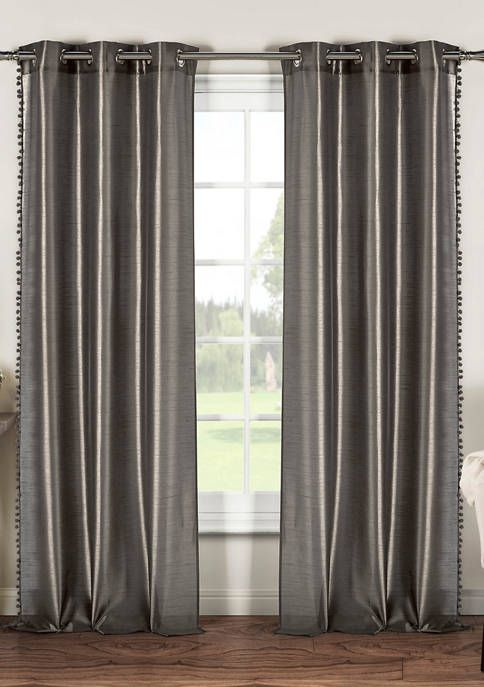 Duck River Textile Balifull Solid Window Curtain Set In 2020