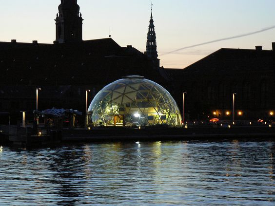 Dome of Visions by Dusk, Copenhagen: