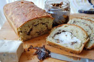 Morel Bioche with Onion Jam swirl via Oh Cake blog