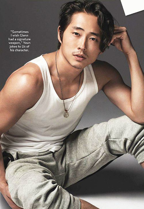 Steven Yeun for US Weekly's Hot Bodies