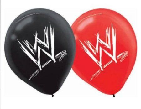 £6.99 WWE Balloons 12in - 6 per Package: Amazon.co.uk: Kitchen & Home