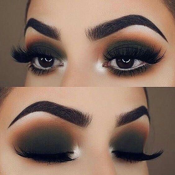 Aprenda a fazer um olho esfumado preto | Maquiagem olhos, Maquiagem olhos  pretos, Ideias de maquiagem