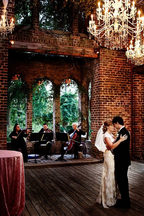 "MY DREAM... THE RUINS AT BARNSLEY GARDENS!! ""Do you hear that love they're playing our song"" Atlanta Wedding at Barnsley Gardens Resort by Nadia D Photography"