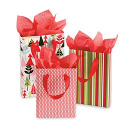 """Great re-use of cereal boxes to make gift """"bags"""" that can hold heavier gifts"""