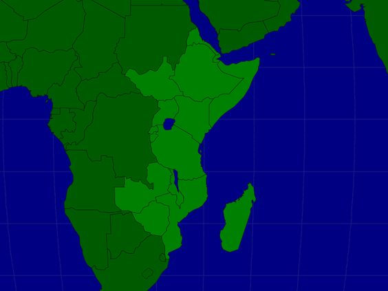 Eastern Africa Countries Map Quiz Game Quizzes – Asia Map Quiz Game