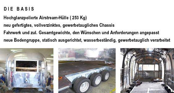 Airport Center Zürich ... Sternen Grill ...Wurstfenster ... Gourmet Gastro Trailer ... Sonderanfertigung by Airstream4u