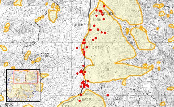 資料來源:交通部觀光局、經濟部中央地質調查局